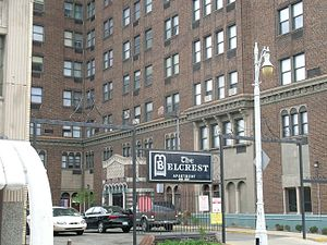 Belcrest Apartments (Detroit, Michigan) - The Belcrest