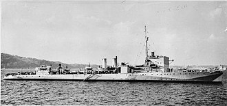 USS Abel P. Upshur (DD-193) - HMS Clare