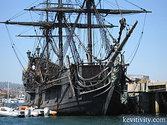 Black Pearl - The Black Pearl, San Pedro Harbor, 2006