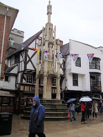 Winchester - The Winchester Buttercross (Sept. 2010).