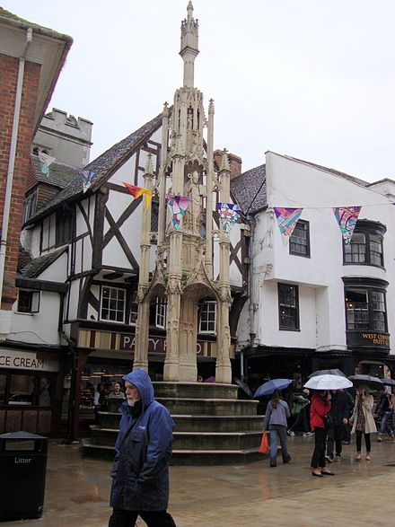 The Winchester Buttercross The Buttercross in Winchester.jpg