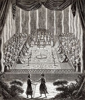 Suleiman I of Persia - Artwork of Suleiman I's first coronation in 1666.