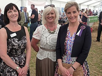 Sophie, Countess of Wessex - Sophie attending The Royal Cheshire County Show in 2015
