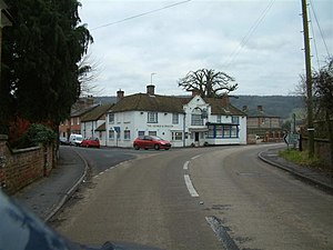 Hurstbourne Tarrant - Image: The George and Dragon geograph.org.uk 99906