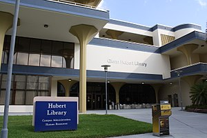 Biscayne Bay Campus - The Glenn Hubert Library at Florida International University's Biscayne Bay Campus