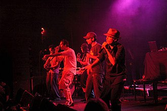 The Herd (Australian band) - Performing live on stage at the Metro Theatre, October 2005.