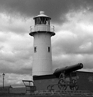 Heugh Lighthouse Lighthouse in County Durham, England