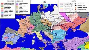 Hungarian invasions of Europe - Wikipedia