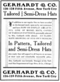 The Illustrated Milliner, Volume 7, Issue 7, advertisement - Gerhardt & Co.png