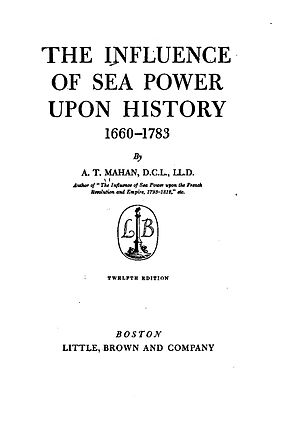 The Influence of Sea Power upon History - Title page of the twelfth edition.