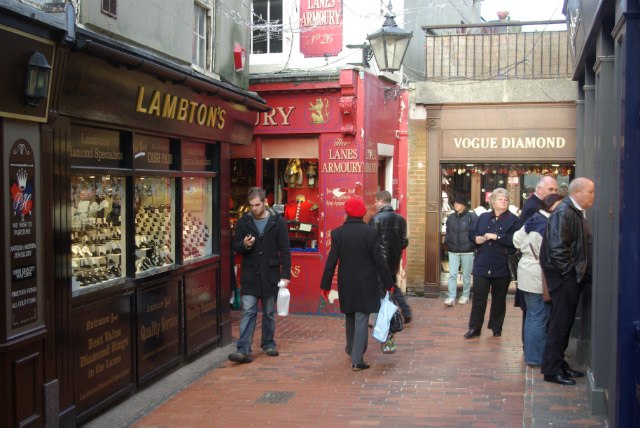 The Lanes, Brighton - geograph.org.uk - 633351