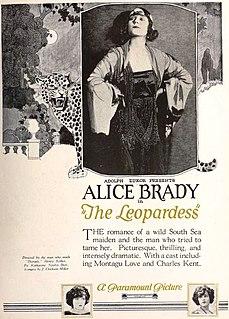 <i>The Leopardess</i> 1923 film by Henry Kolker