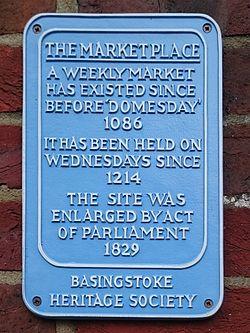 The market place basingstoke heritage society