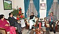 The Minister of State for Environment, Forest and Climate Change (Independent Charge), Shri Prakash Javadekar calling on the Chief Minister of Mizoram, Shri Lal Thanhawla, in Aizawl, Mizoram on January 09, 2016.jpg