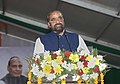 The Minister of State for Home Affairs, Shri Hansraj Gangaram Ahir addressing during the launch of the Student Police Cadet (SPC) programme for nationwide implementation, in Gurugram, Haryana July 21, 2018.JPG