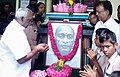 The Minister of State for Road Transport & Highways and Shipping, Shri P. Radhakrishnan paying floral tributes to Sardar Vallabhbhai Patel, on his 141st birthday, in Madurai, Tamil Nadu on October 31, 2016.jpg