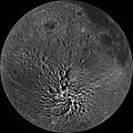 The Moon showing Mare Orientale (LROC WAC orthographic projection).jpg