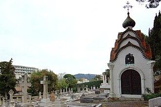John Francis Campbell - Grave of John Francis Campbell, far left
