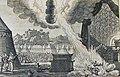 The Phillip Medhurst Picture Torah 529. Nadab and Abihu destroyed. Leviticus cap 10 vv 1-2. Perelle.jpg