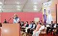 The Prime Minister, Shri Narendra Modi addressing at Ground Breaking ceremony of Mumbai-Ahmedabad High Speed Rail Project, at Ahmedabad, Gujarat on September 14, 2017.jpg