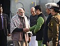 The Prime Minister, Shri Narendra Modi at the Annual Conference of DGPs and IGPs at the BSF Academy, at Tekanpur, Madhya Pradesh (1).jpg