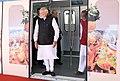 The Prime Minister, Shri Narendra Modi at the inauguration of Hyderabad Metro, at Hyderabad on November 28, 2017.jpg