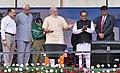 The Prime Minister, Shri Narendra Modi inaugurating Shri Mata Vaishno Devi Shrine Board Sports Complex, at Katra, in Jammu and Kashmir (1).jpg