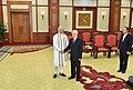 The Prime Minister, Shri Narendra Modi meeting the General Secretary of the Communist Party of Vietnam, Mr. Nguyen Phu Trong, at Communist Party Headquarters, in Hanoi, Vietnam on September 03, 2016.jpg