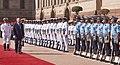 The Prime Minister of Malaysia, Dato' Sri Mohd Najib Bin Tun Abdul Razak inspecting the Guard of Honour, at the Ceremonial Reception, at Rashtrapati Bhavan, in New Delhi on April 01, 2017.jpg