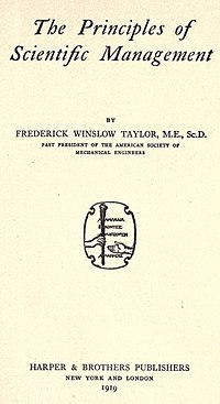 The Principles of Scientific Management cover