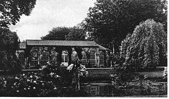 Sir Wilfrid Lawson, 1st Baronet, of Brayton - The Whisky Pond at Brayton Hall