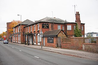Farnborough, Hampshire - The Tumble Down Dick, before its conversion