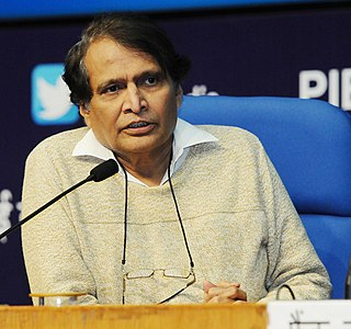Suresh Prabhu Indian politician
