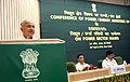 The Union Power Minister, Shri Sushilkumar Shinde delivering the inaugural address at the Conference of Power Ministers of States and UTs, in New Delhi on April 28, 2010.jpg