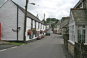 The Village, Buckland Monachorum - geograph.org.uk - 224666.jpg