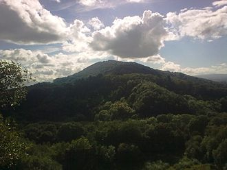 Wrekin Terrane - The Wrekin from Ercall Hill.