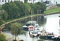 The barge BARMERE moored on the Sankey Canal - geograph.org.uk - 78746.jpg