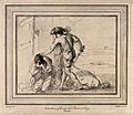 The beheading of James. Etching by W. Herbert after G.F. Bar Wellcome V0048153.jpg