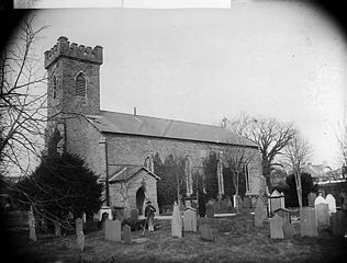 The church, Newcastle Emlyn