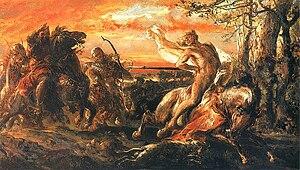 Leszek the White - The Death of Leszek the White (1880).