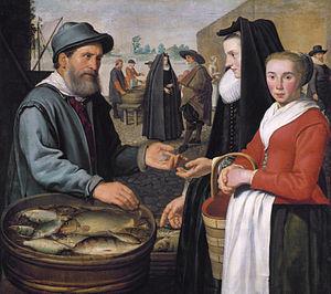 Jacob Gerritsz. Cuyp - Image: The fish market, by Jacob Gerritsz Cuyp