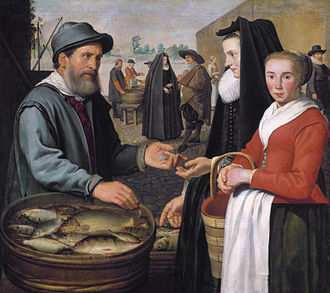 Jacob Gerritsz. Cuyp - Image: The fish market, by Jacob Gerritsz Cuyp
