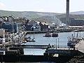 The footbridge across Peel Harbour - geograph.org.uk - 777643.jpg
