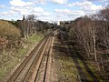 The railway from Colliery Bridge, Bradley, Huddersfield - geograph.org.uk - 381604.jpg