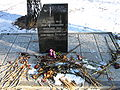 The sign in memory of the liquidators of the Chernobyl accident.JPG