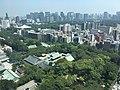 The view of Yasukuni Shrine from Boissonade Tower 26F.jpg