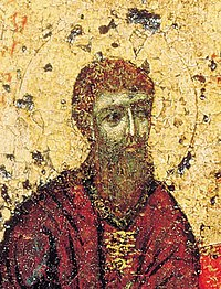 Theodosius of the Caves from Pecherskaya (Svenskaya) icon.jpg