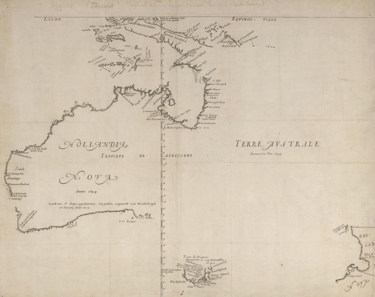 Map Of Australia 1700.European Exploration Of Australia Wikipedia