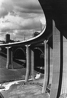 Byker Viaduct Railway bridge in Newcastle upon Tyne