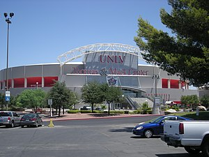 Thomas & Mack Center - Image: Thomas & Mack Center July 2007